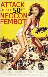 Poster sat�rico sobre la columnista neocon Ann Coulter